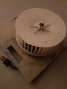 Noisy Bathroom Exhaust Fan